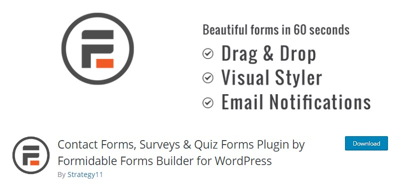 Formidable-Forms-WordPress-plugin-contact-form