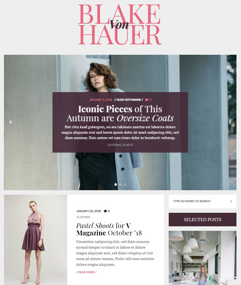 Blake-von-Hauer-fashion-blog-theme-WordPress