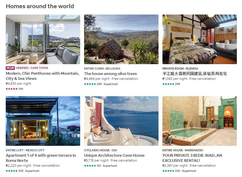 Airbnb-rentals