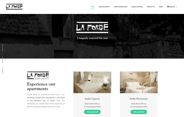 la forge wp hotel booking