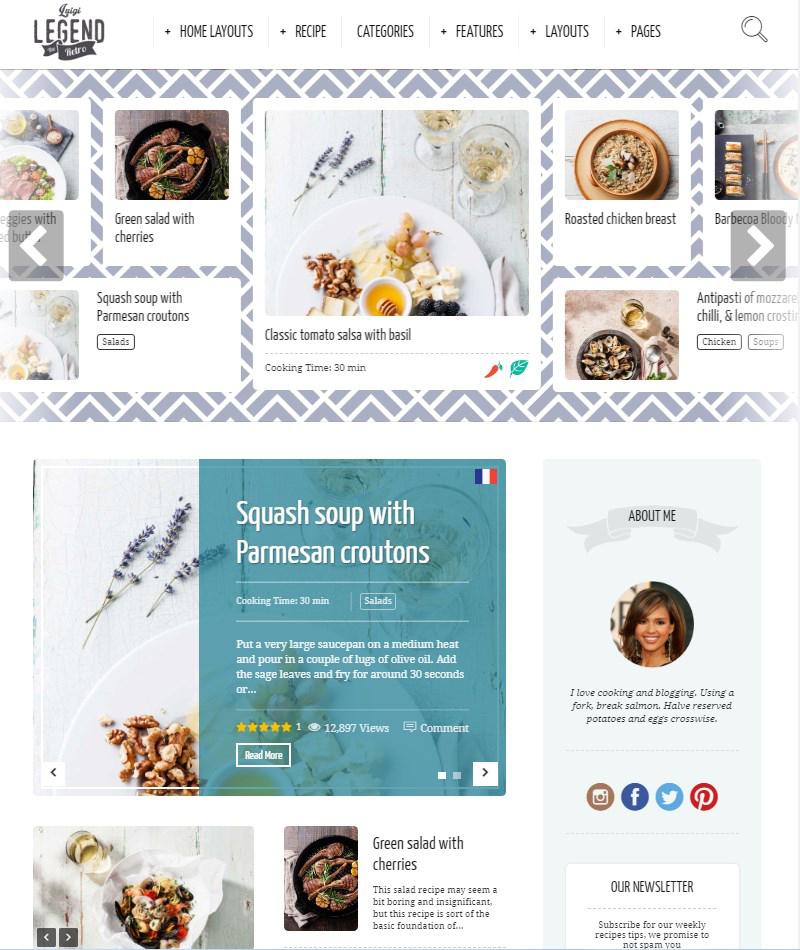 Neptune-food-blog-theme-WordPress