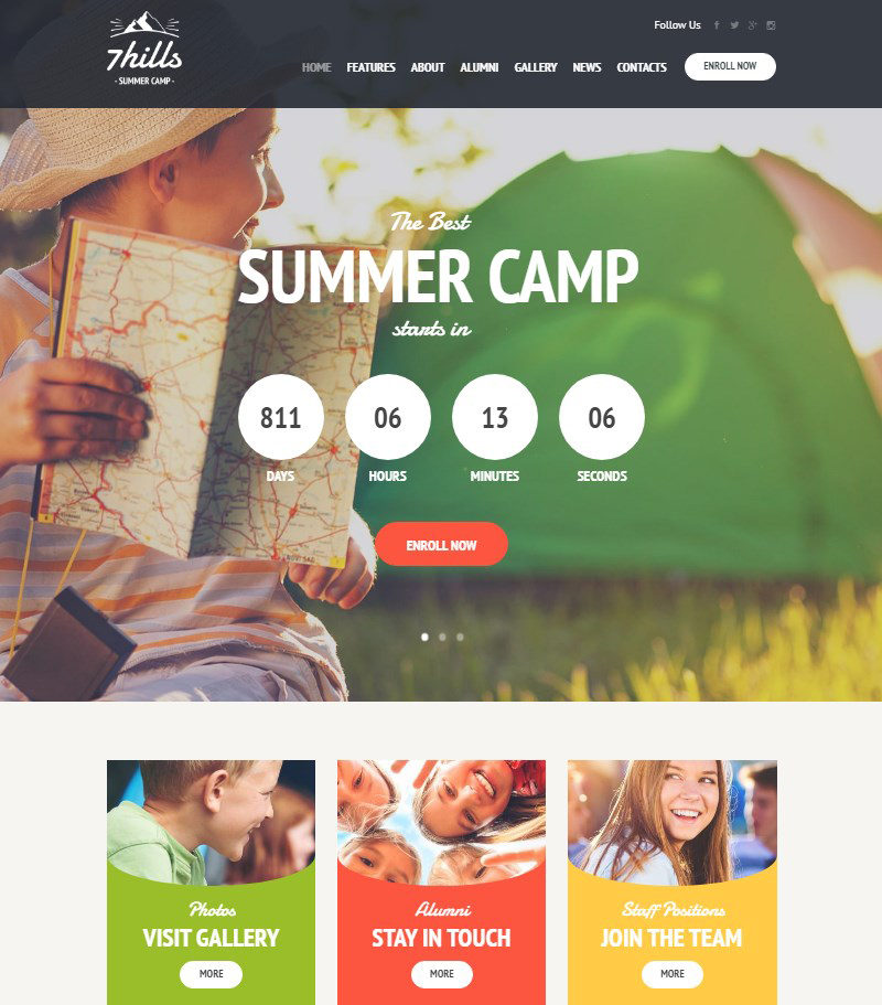 Seven-Hills-summer-camp-WordPress-theme