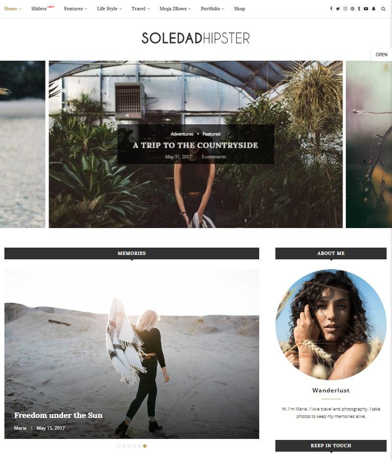 Soledad-WordPress-blog-template