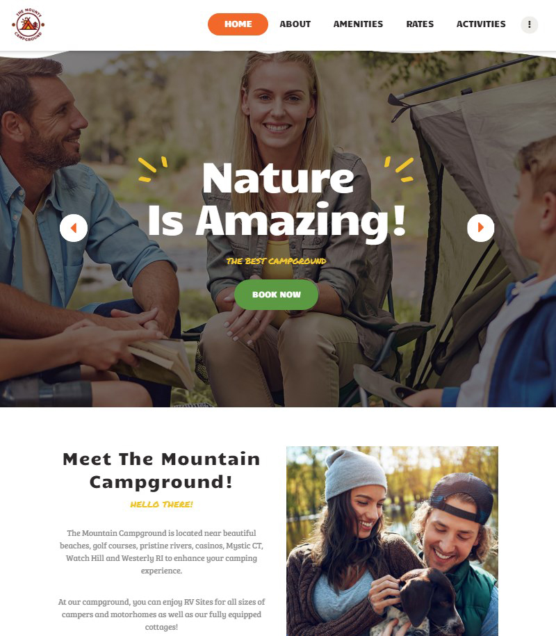 The-Mounty-WordPress-camping-theme
