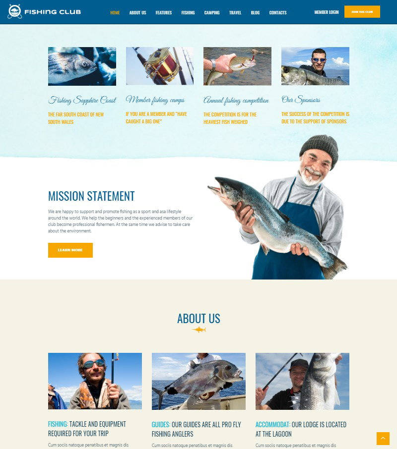 fishing-club-theme-WordPress