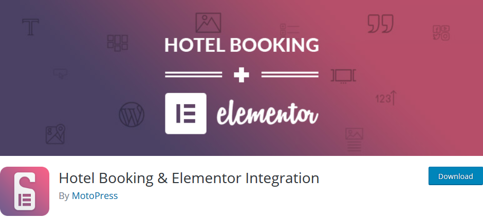 motopress hotel booking elementor