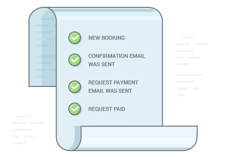 hotel booking payment request