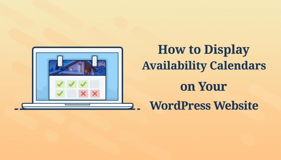WordPress Availability Calendar