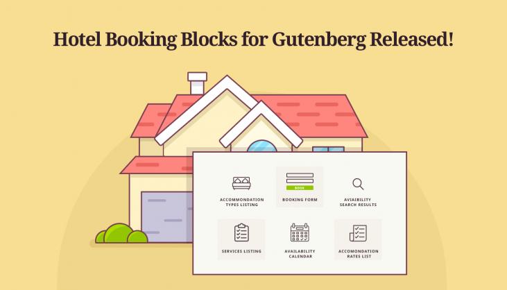 motopress hotel booking blocks gutenberg