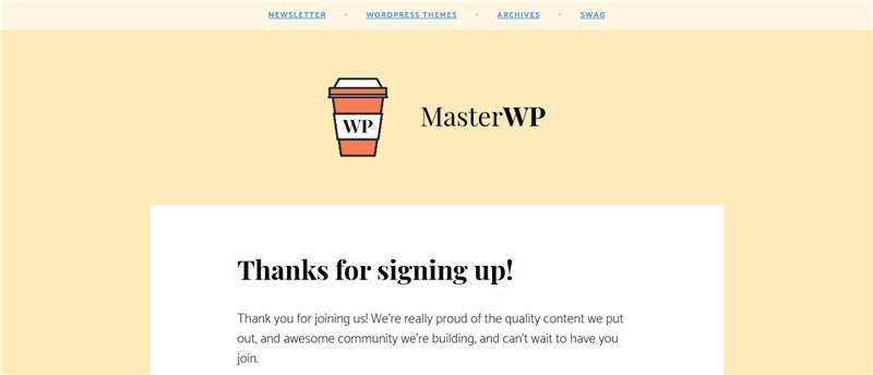 Master WP