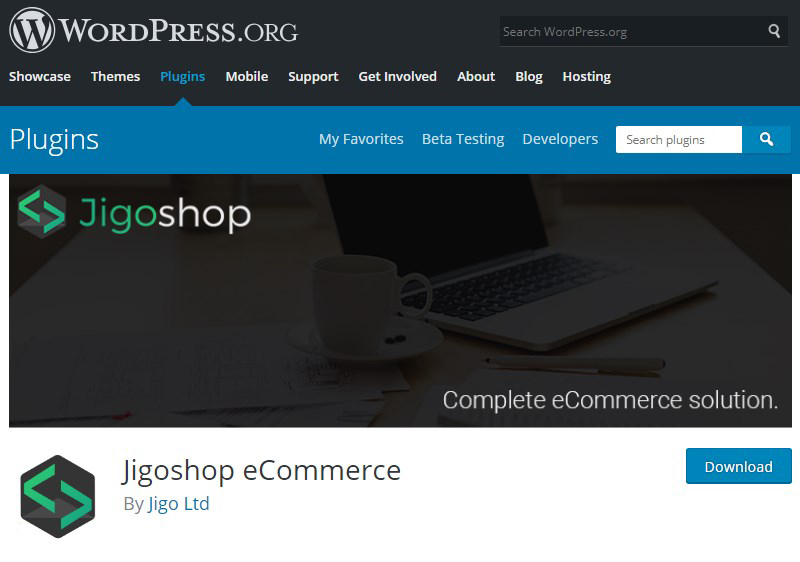 Jigoshop WordPress eCommerce plugin