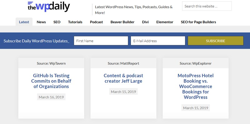 beginner wordpress resources the wp daily