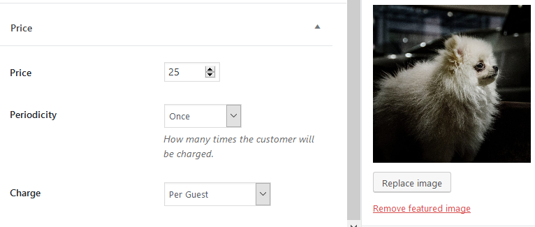 pet hotel service editing