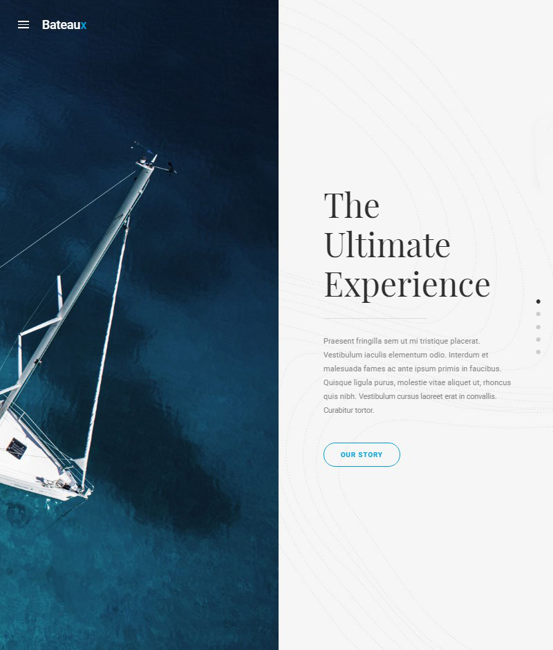 Bateaux multipurpose WordPress theme