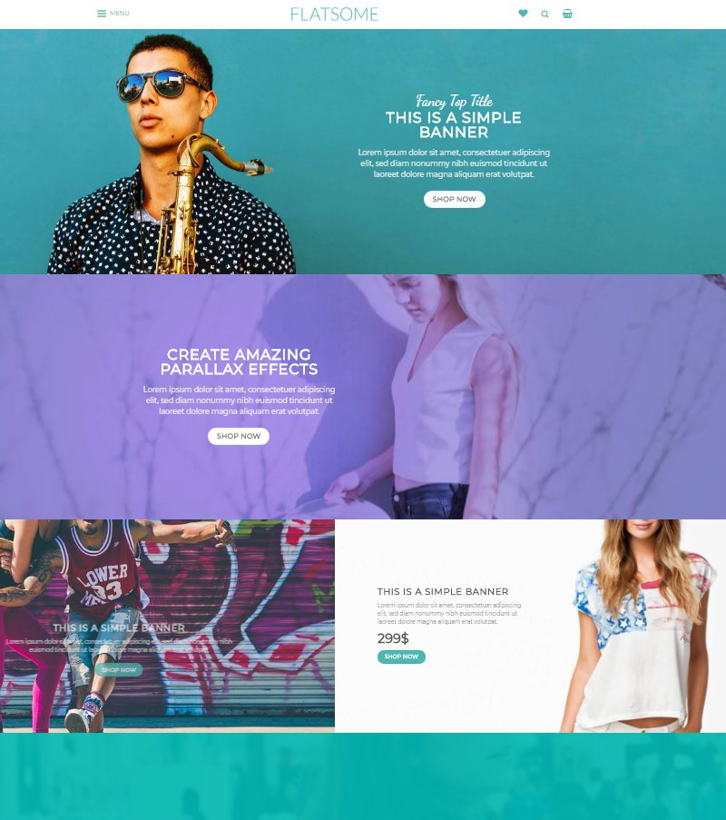 Flatsome multipurpose WooCommerce WordPress theme