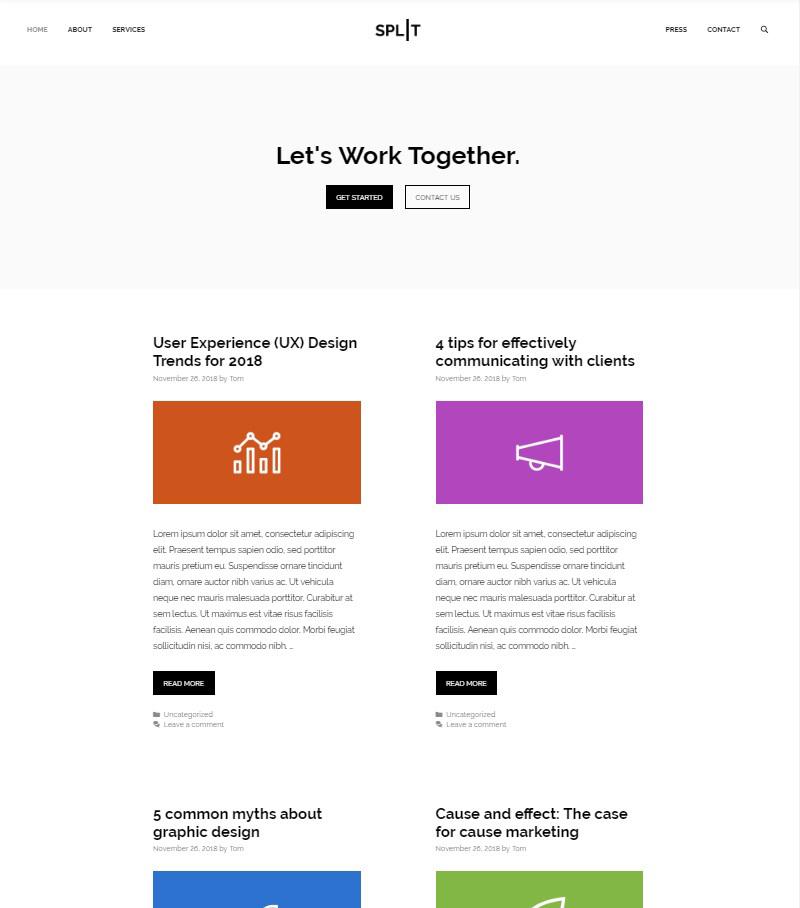 GeneratePress free Gutenberg theme WordPress
