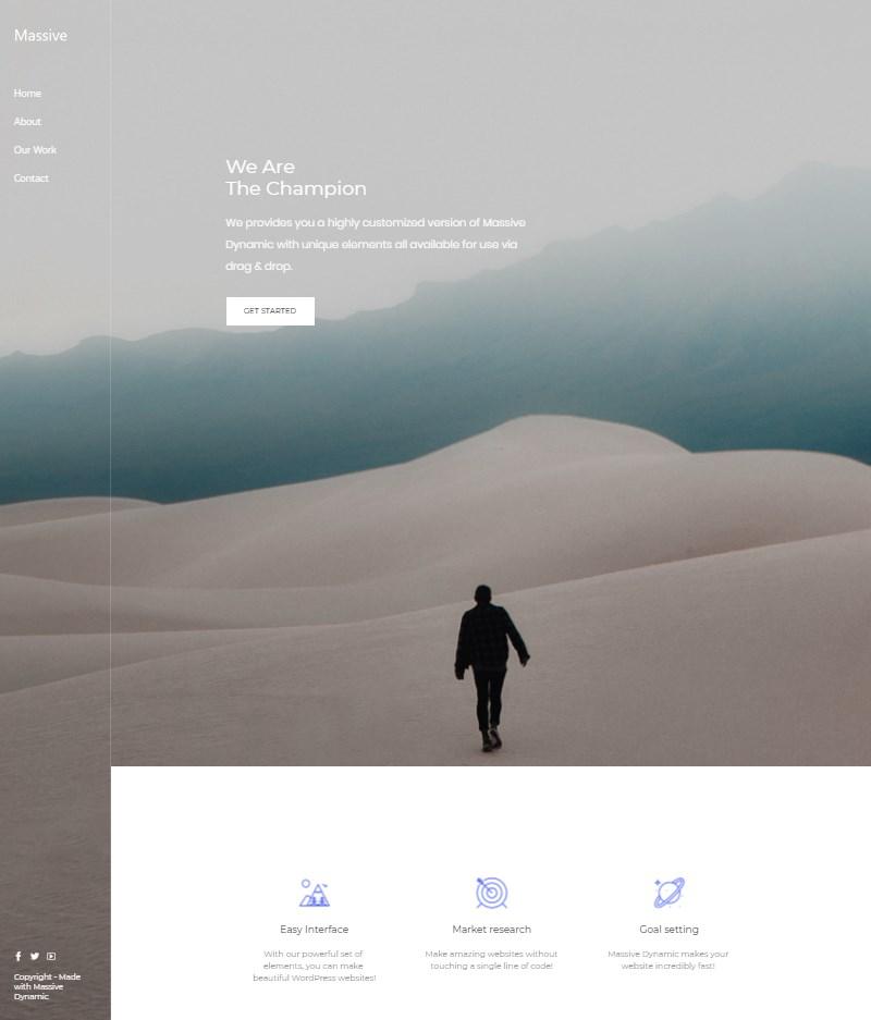 Massive Dynamic WordPress multipurpose theme