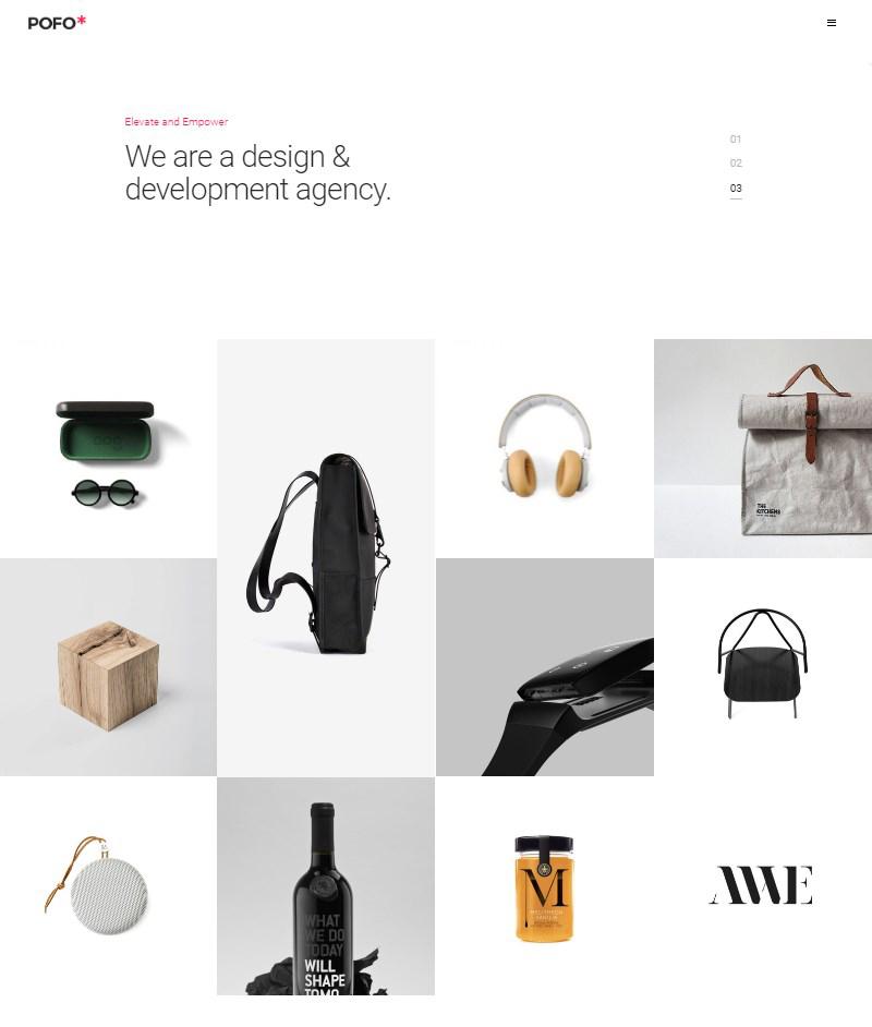 Pofo portfolio creative agency and corporate WordPress theme
