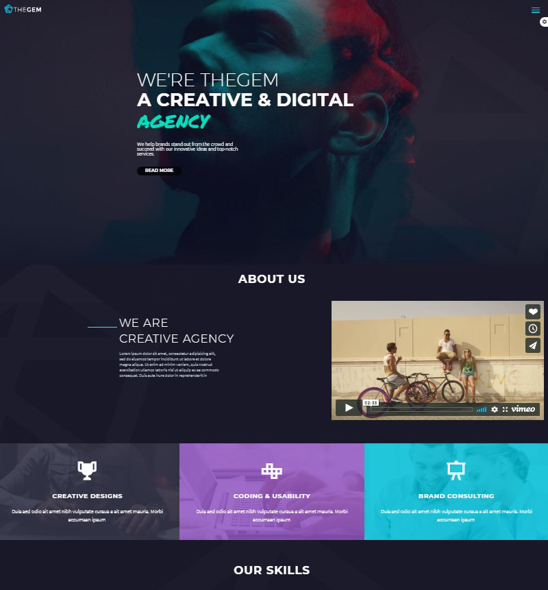 TheGem creative multi-purpose high-performance WordPress theme