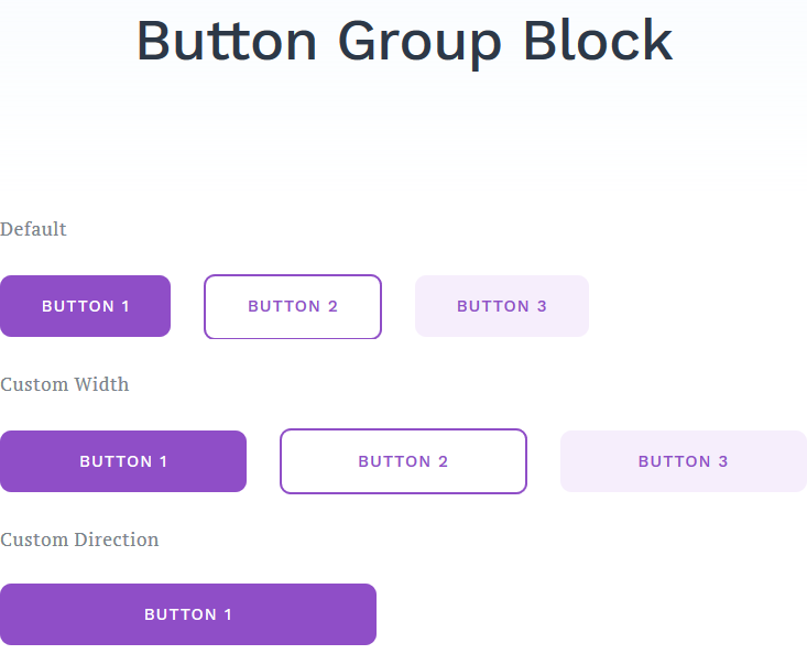button group featured