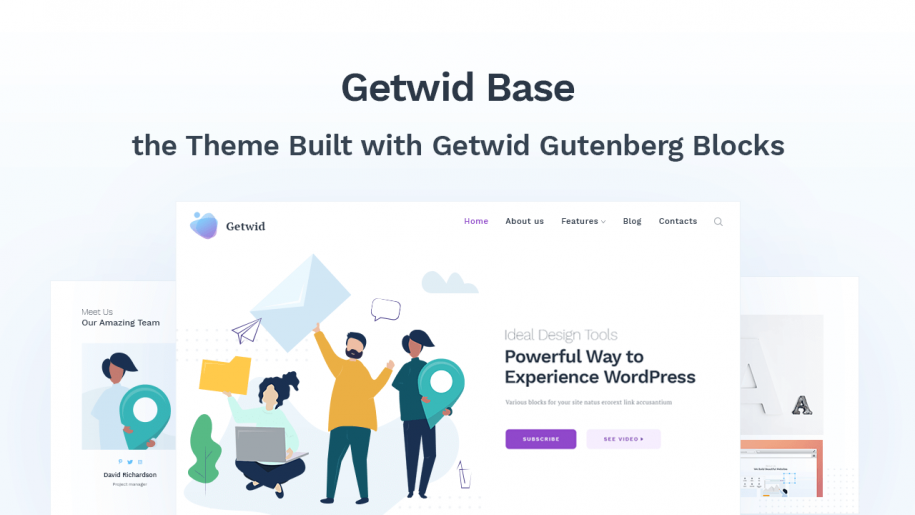 gutenberg free wordpress theme
