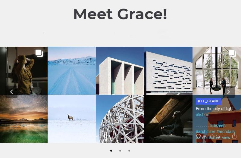 Grace Instagram Feed WordPress plugin