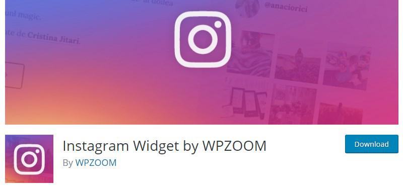 Instagram Widget plugin WordPress