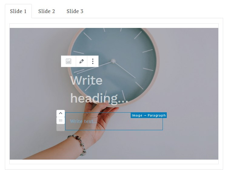 media and text slider featured