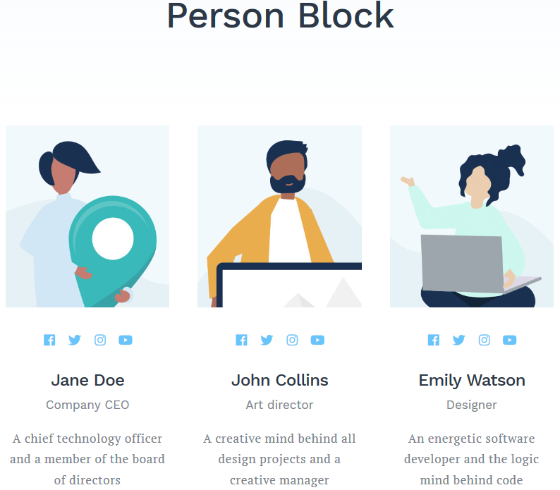 person block featured