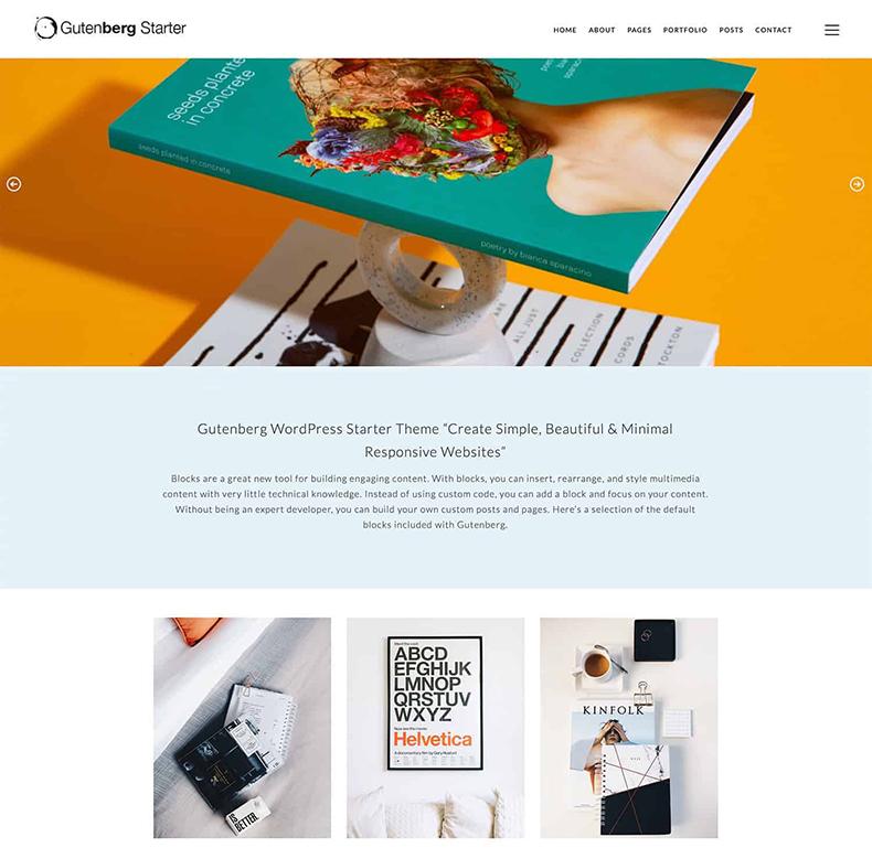 Gutenberg-Starter-WordPress-Theme-Free