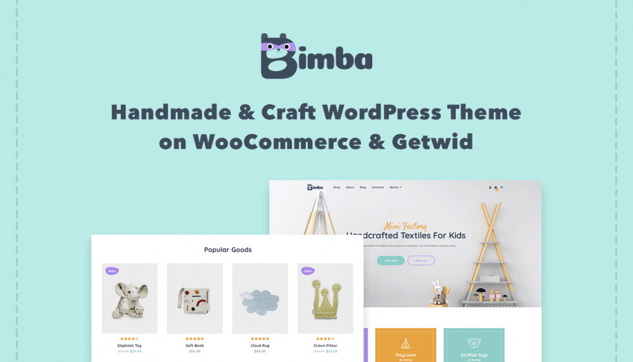 handmade WordPress theme