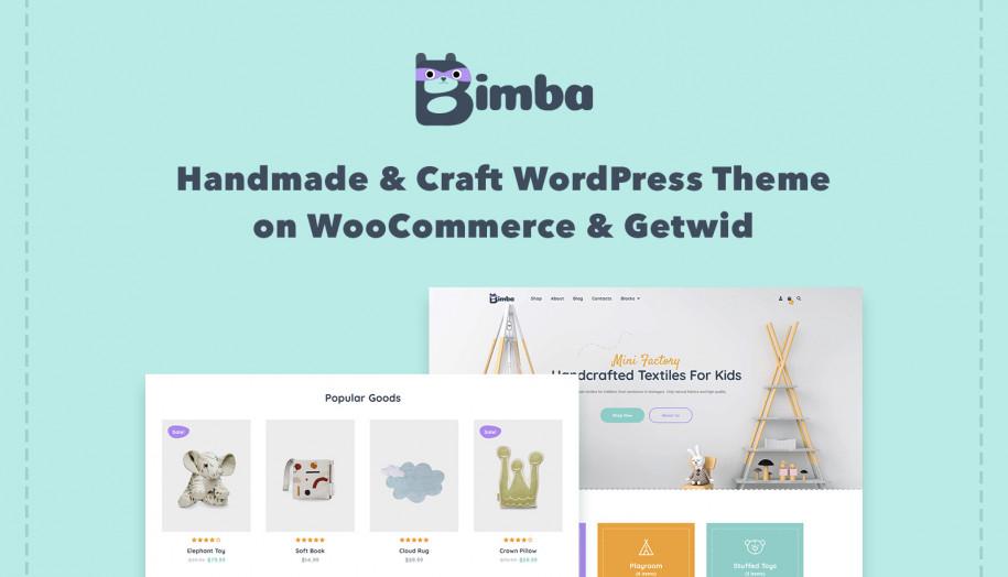 handmade WordPress theme
