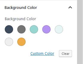 bimba theme colors
