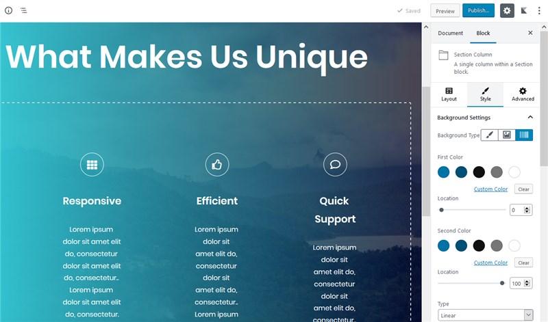 otter layouts gutenberg blocks plugins