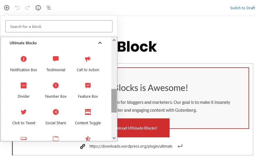 ultimate blocks featured