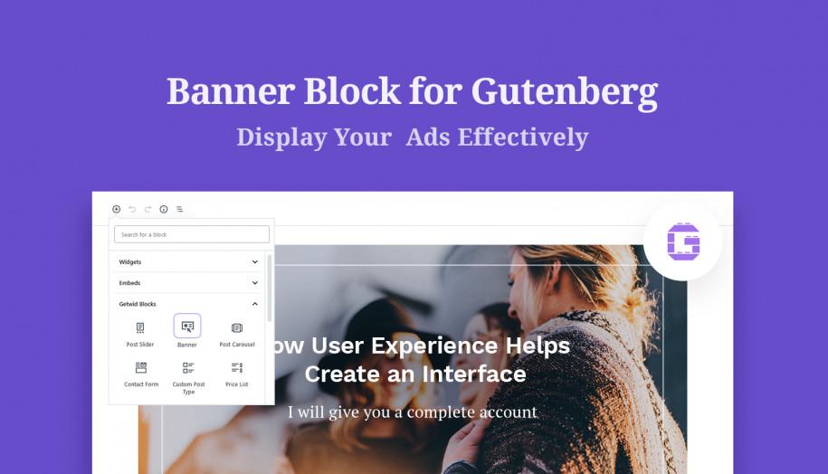 Banner Gutenberg Block