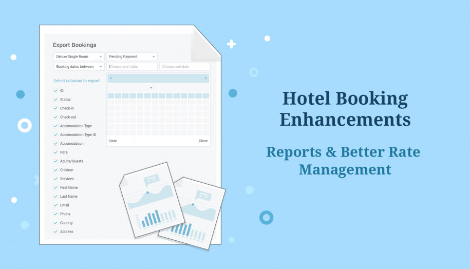 hotel booking reports
