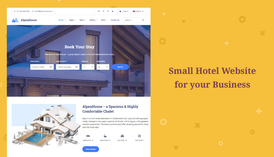 wordpress-hotel-website-motopress
