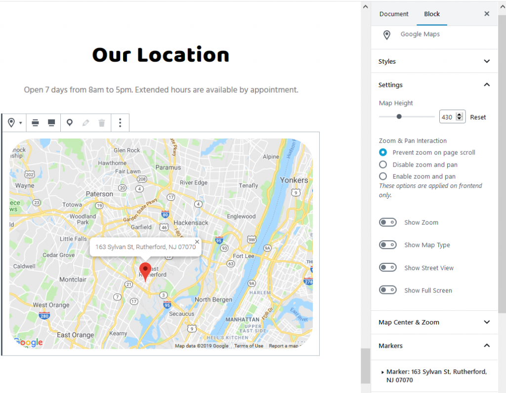 petotel maps pet sitting website template