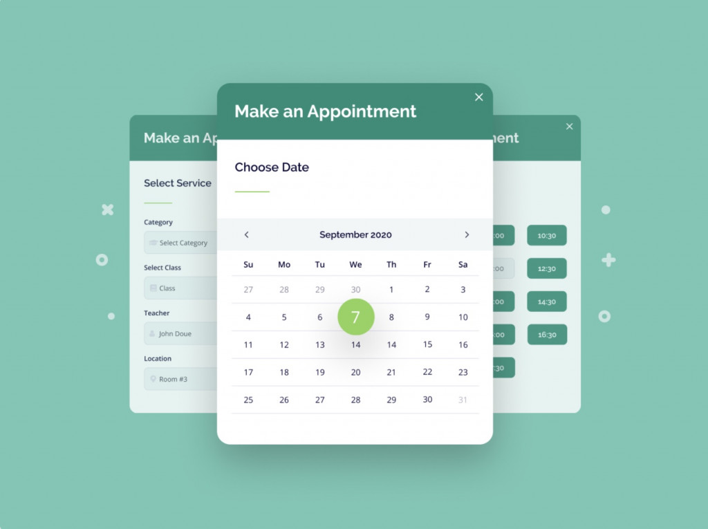 Appointment Booking plugin by MotoPress