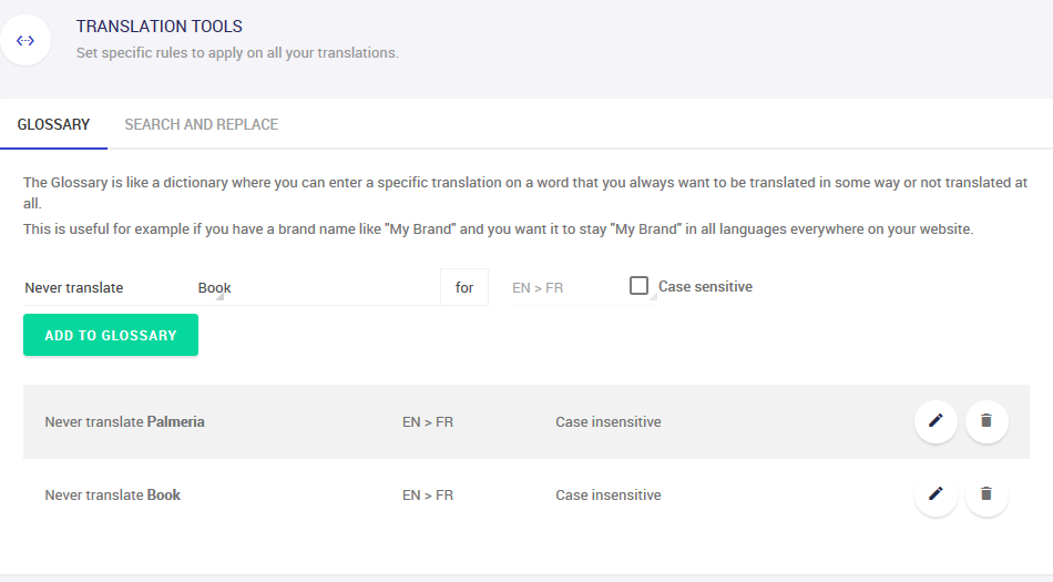 exception rules weglot wordpress translation plugin