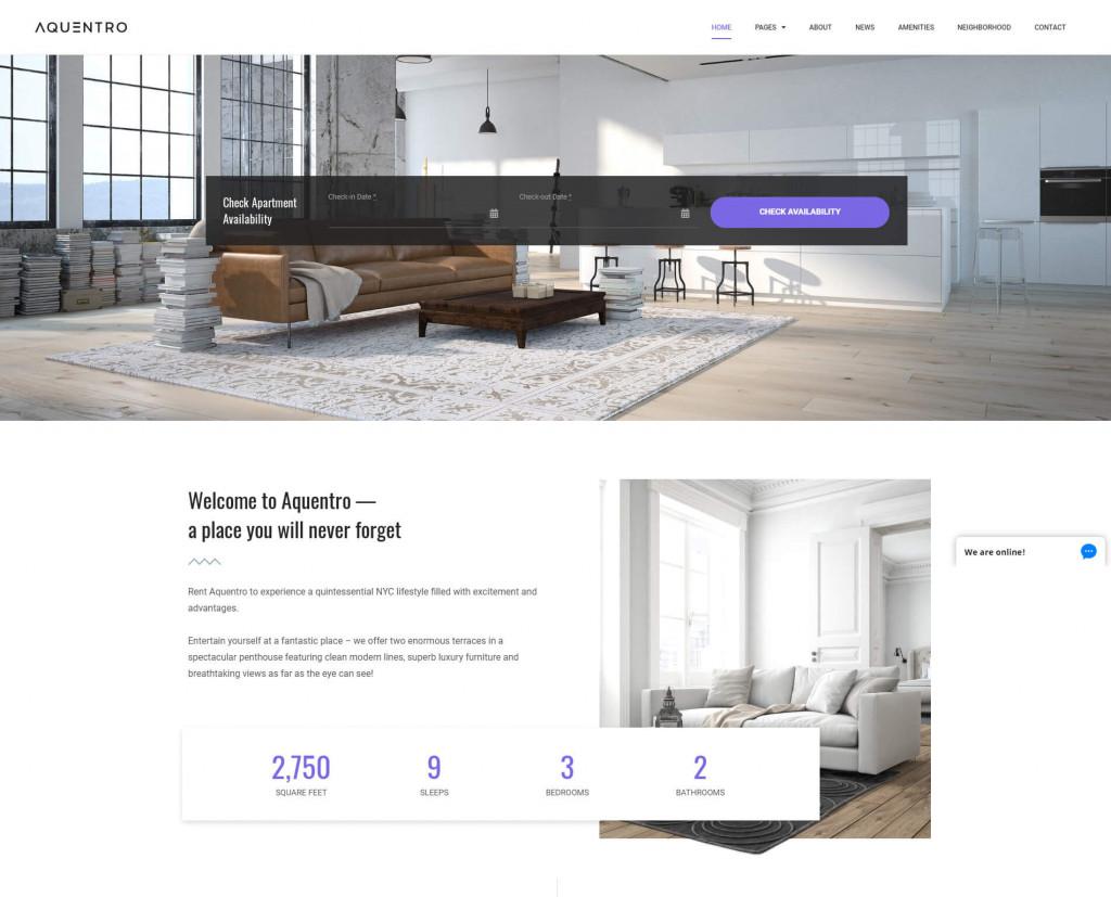 AQUENTRO-single-rental-property-theme