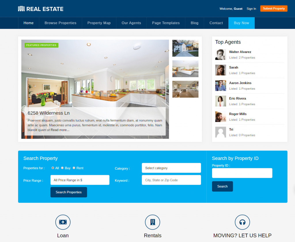Real_Estate_Theme