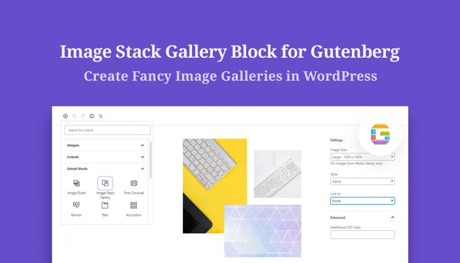 image gallery Gutenberg