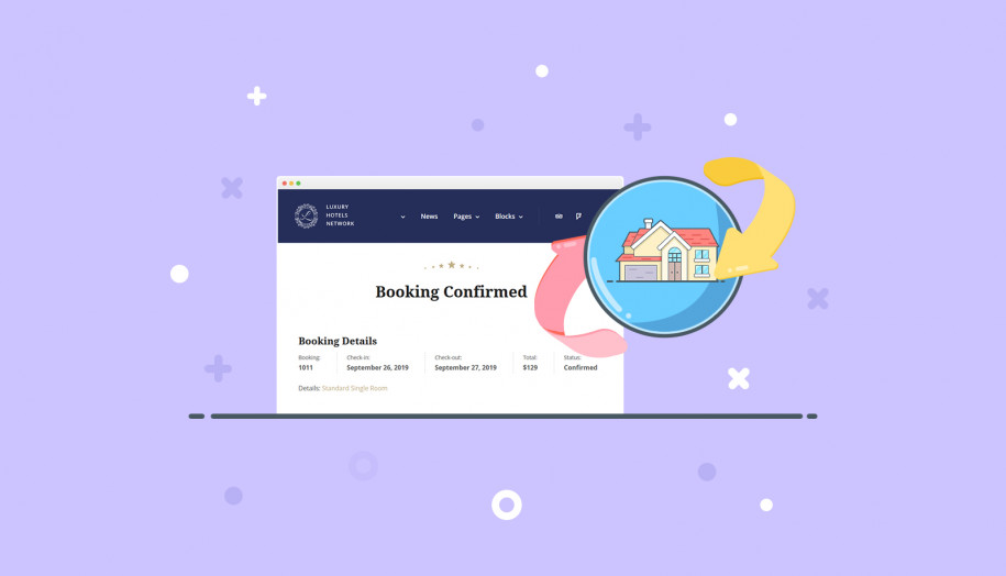 WP hotel booking plugin