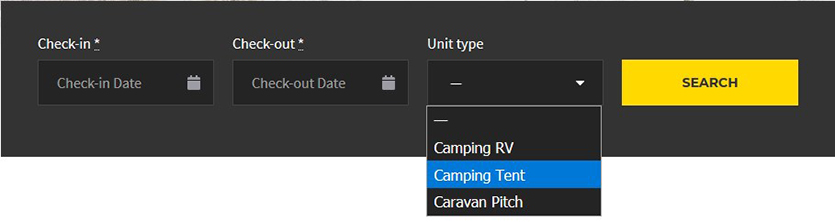 search-form-wp-camping-site
