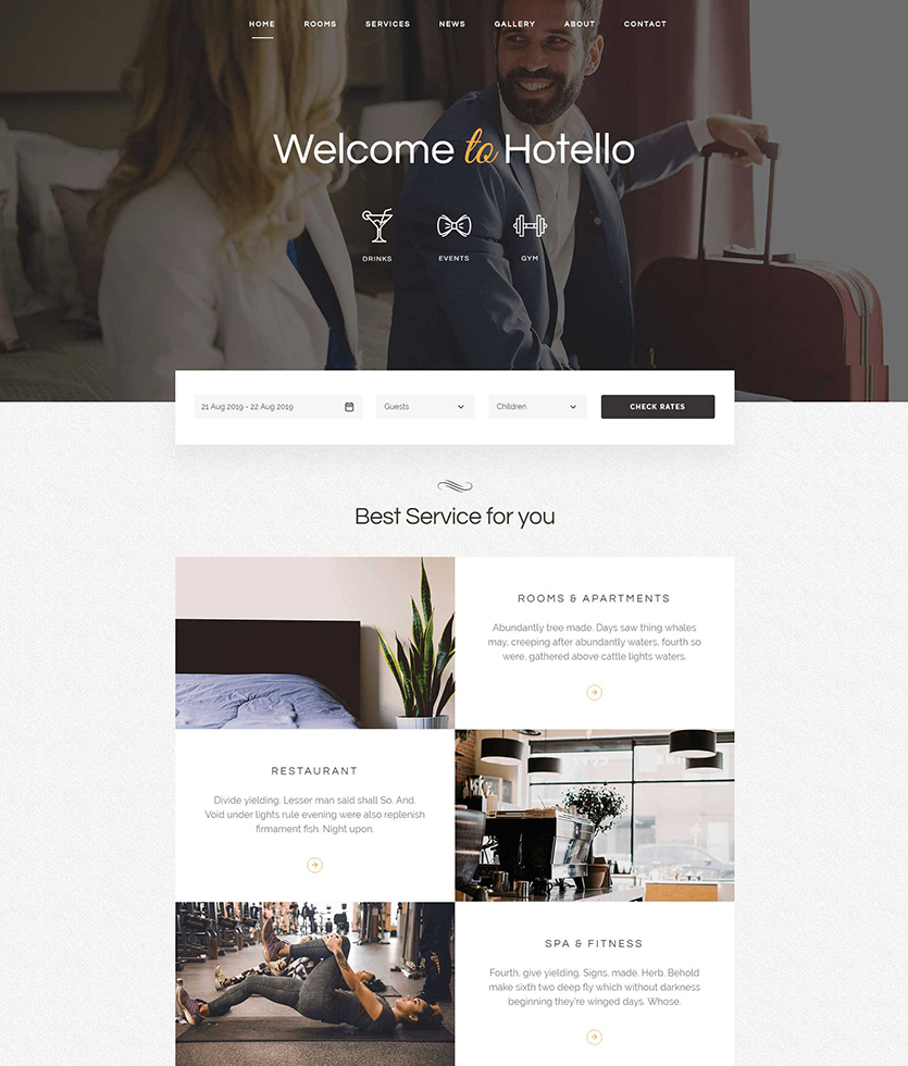 Hotello-wordpress-theme