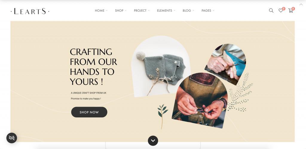 Handmade Shop WooCommerce WordPress Theme