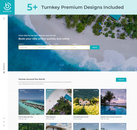 Multipurpose WordPress Rental Theme