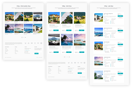 The Suite of Property Page Layouts